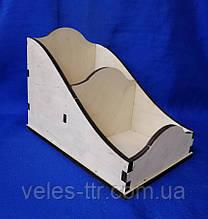 Короб - лоток подставка для специй  20,5х13,5х15,5 см Фанера заготовка для декора