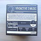 Смарт-годинник Garmin Vivoactive 3 Music Black Чорні, фото 4