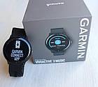 Смарт-годинник Garmin Vivoactive 3 Music Black Чорні, фото 6