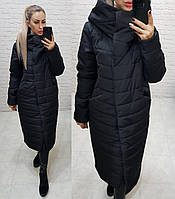 Куртка зимняя женская, арт. 180, цвет - черный