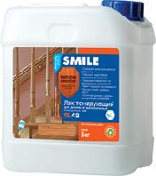 Лак для дерева и минеральных поверхностей «SMILE®WOOD PROTECT®» SL42 акриловый водно-дисперсионный