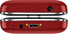 Мобильный телефон Nomi i220 Red Гарантия 12 месяцев, фото 3