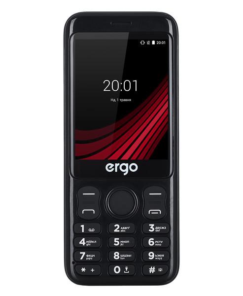 Мобильный телефон ERGO F285 Wide Dual Sim Black Гарантия 12 месяцев