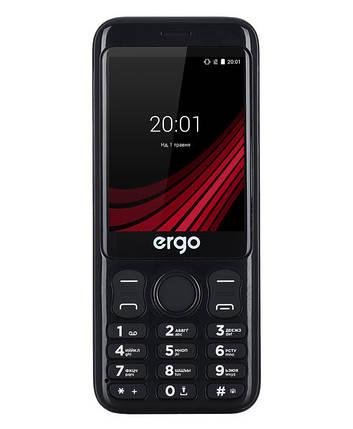 Мобильный телефон ERGO F285 Wide Dual Sim Black Гарантия 12 месяцев, фото 2