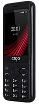 Мобильный телефон ERGO F285 Wide Dual Sim Black Гарантия 12 месяцев, фото 3