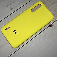 Силиконовый чехол Silicone Case Xiaomi Mi CC9/Mi 9 Lite Желтый