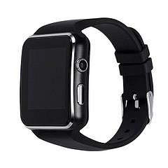 Розумні годинник Smart Watch X6 Plus Black Original (SWX6BLO)