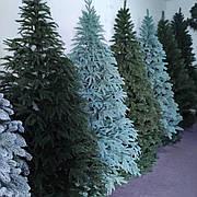 Новогодняя елка искусственная литая Премиум зеленая (высота 1,8 м)