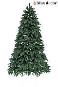 Новогодняя елка искусственная литая Премиум зеленая (высота 2,1 м )