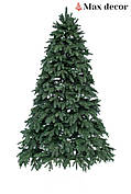 Новогодняя елка искусственная литая Премиум зеленая (высота 2,3 м)