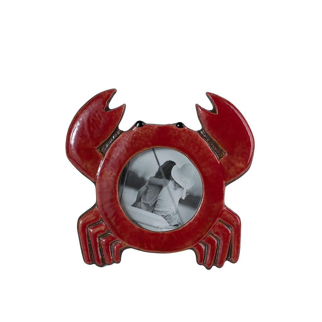 Фоторамка керамика Краб 106257