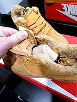 ЗИМНИЕ КРОССОВКИ Nike (Найк) Натуральная Замша/ Мех  Женские, песочные, Жіночі кросівки зимовi,37-40, фото 3