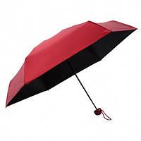 Мини-зонт в капсуле Capsule Umbrella mini бордовый SKL11-204007