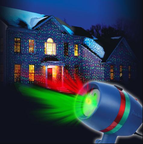 Лазер-проектор Laser Light #1 Best Seller (красный, зелёный свет лучей)