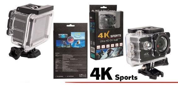 Экшн камера 4К Ultra HD Sports