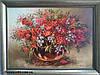 Картины цветы маслом «Натюрморт с рябиной»