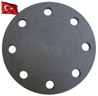 Фланцевая заглушка ПВХ Pimtas диаметр 90 мм, Фланцевое