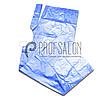 Пеньюар перукарський 0,9х1,6м, поліетилен, 100 шт, блакитні