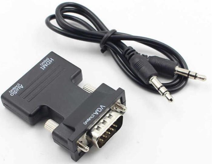 Конвертер с HDMI на VGA OUT 6737