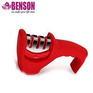 Точилка механическая для кухонных ножей Benson BN-5 | Красная