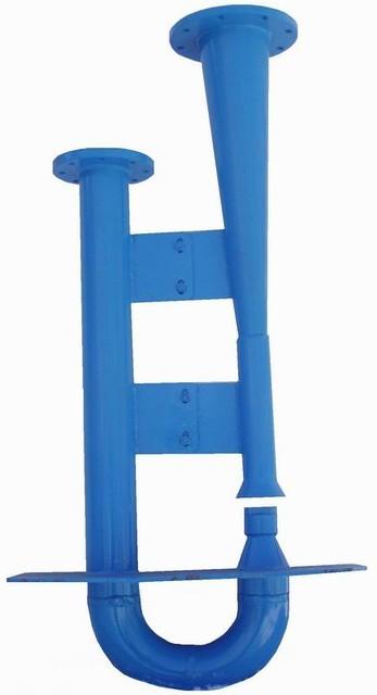Гидроэлеватор dс30 dр55 для удаления осадка из водоприемных камер, песколовок и нефтеловушек