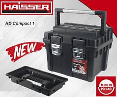 """Ящик для инструментов HAISSER  18"""" HD Compact 1 450*350*350"""