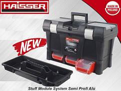 "Ящик для инструментов HAISSER  20""Stuff Module System Semi Profi Alu 525*256*325"