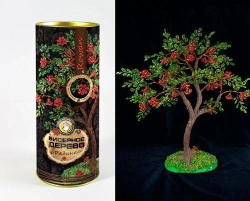 Бисерное дерево Рябина (БД-03)