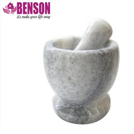 Мармурова плита, ступка з товкачиком Benson BN-11, фото 2