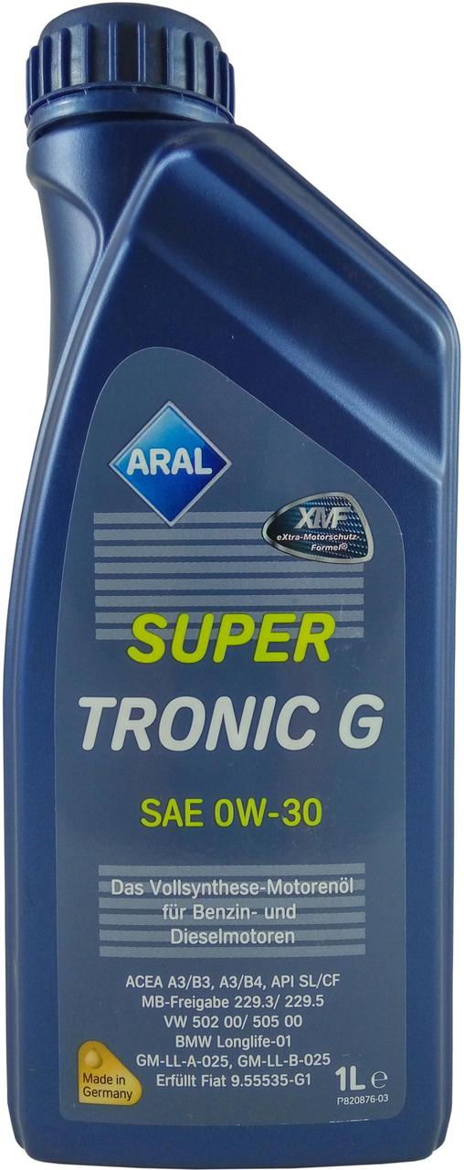 Моторное масло Aral SuperTronic G 0W-30 1 л