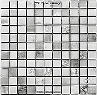 Мозаика СМ3021 С2 Imprasion Gray White - керамическая мозаика 300х300