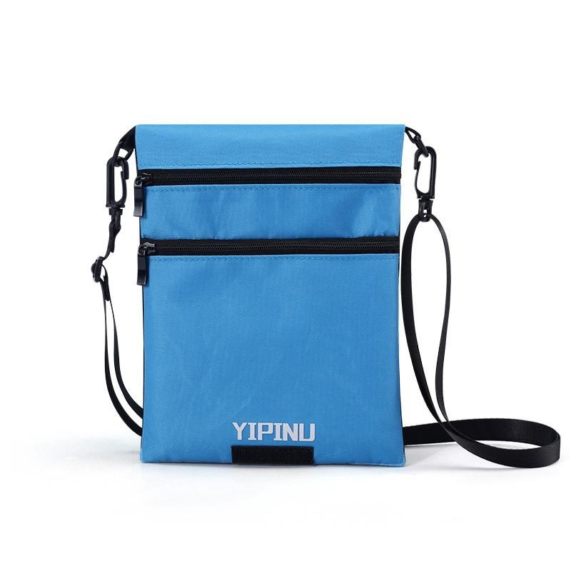 Дорожный кошелек на шею YIPINU. Синий/Черный (AS)
