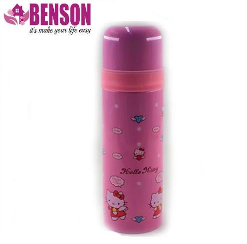 Вакуумний дитячий термос з нержавіючої сталі Benson BN-54 500 мл | Рожевий
