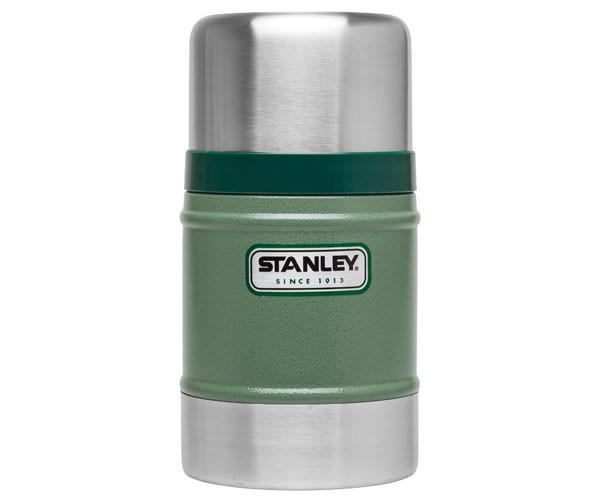 Термос пищевой Stanley Classic 500 мл зелений (10-00811-010)