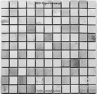 Мозаика СМ3020 С2 Gray White - керамическая мозаика 300х300