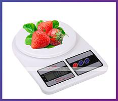 Электронные кухонные весы SF-400 на 10кг + Батарейки