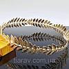Тіара кругла корона лавр ОЛІМП срібло для волосся вінок лавровий прикраса, фото 4