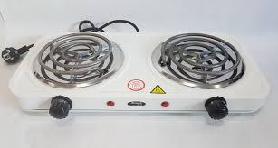 Электроплита Wimpeх WX 200B  спиральная,настольная на 2 конфорки  2000 Вт