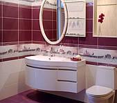 тумба ванную радиусная подвесная
