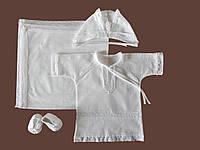 Крестильная одежда с крыжмой. Модель Beauty