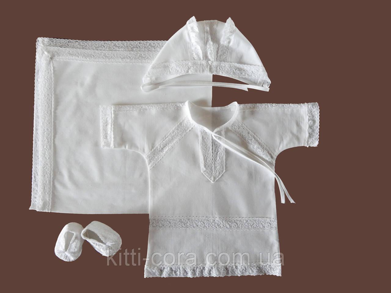 Крестильная одежда с крыжмой. Модель Beauty - Kitti Cora - интернет магазин для мам и малышей в Львове