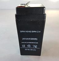 🔥 Аккумуляторная батарея для весов, фонарей, ибп 330г 4В 4А 4V4A /20hr