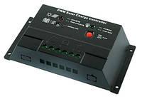 Контроллер 20А 12/24В + USB гнездо (Модель-CM2024+USB)