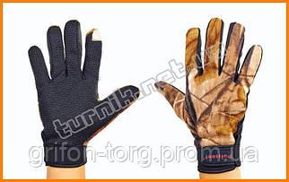 Закрытые флисовые перчатки для зимней рыбалки, до -25 градусов.
