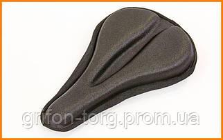 Чехол-накладка на сиденье велосипеда гелевая