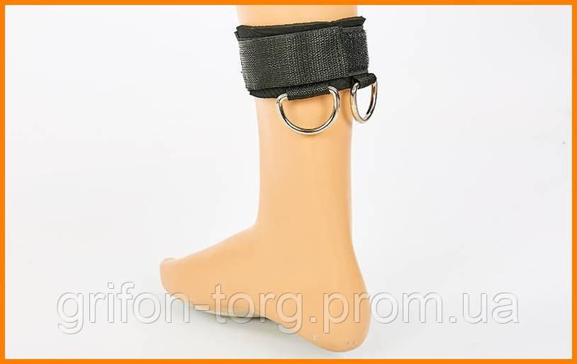 Лямка для ног нейлоновая 32.5x6 черная 1 шт