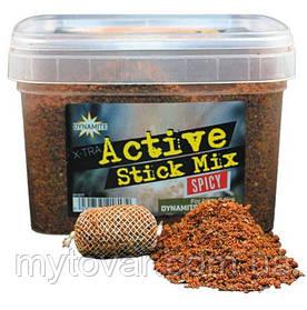 Стик микс для рыбалки по 100 грамм. Стик микс Dynamite Baits Xtra Active Stick Mix Spicy