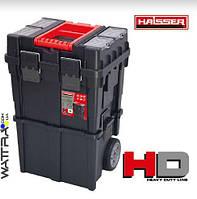Ящик для инструментов HAISSER на колесах HD Compact Logic (450*350*645)