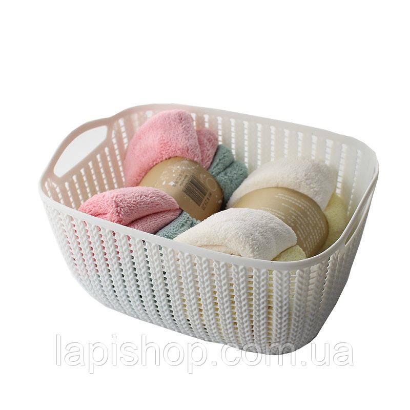 Корзинка для полотенец плетение 2 л, фото 1