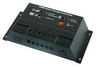 Контроллер 10А 12/24В + USB гнездо (Модель-CM2024+USB)